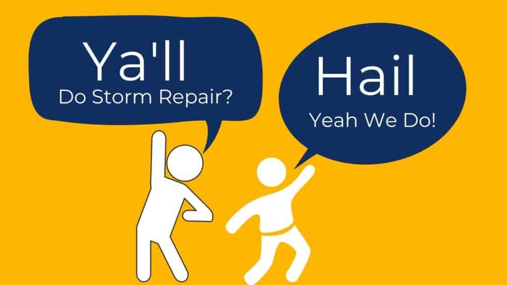 Hail Damage Repair 1